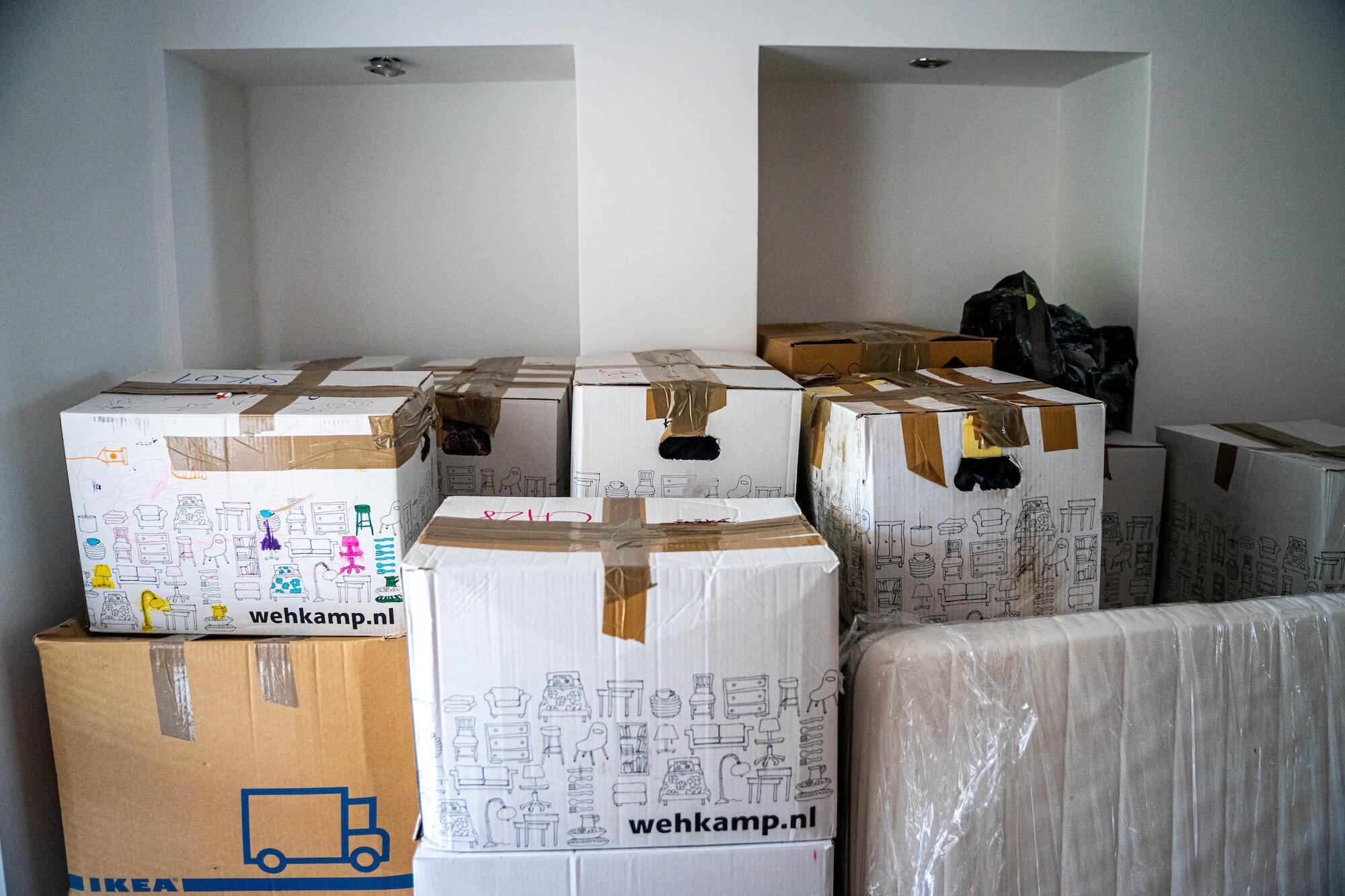 Des cartons de déménagement gratuits